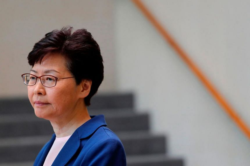 During the closed-door meeting last week, Hong Kong Chief Executive Carrie Lam also shared how the protests - which have turned increasing violent - staged by Hong Kongers have taken a toll on her personal life.