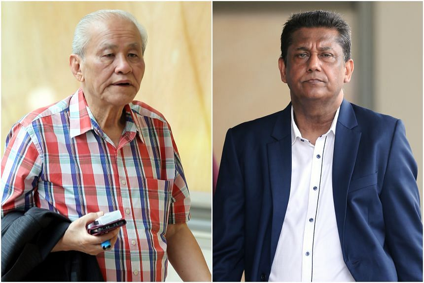 The Singapore Recreation Club is accusing its former president Johnny Goh and former general manager Abdul Rashid Mohamed Ali of various breaches of duties.