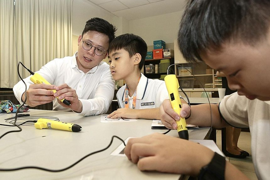My Digital Bootcamp was launched yesterday with a two-day workshop for 100 pupils at Townsville Primary School (above) and Pathlight School. It teaches pupils programming concepts and the programming language Scratch to create robots and navigation t