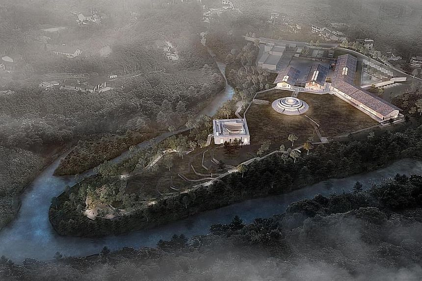 French spirits maker Pernod Ricard is building China's first foreign-owned malt whisky distillery at the foot of the fabled Mount Emei in Sichuan province. It chose the region because of its rich history as well as pristine water source and terroir.