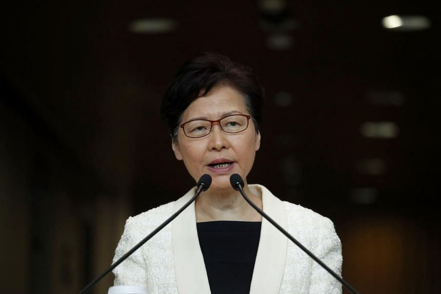 Image result for Hong Kong leader Carrie Lam to withdraw extradition bill