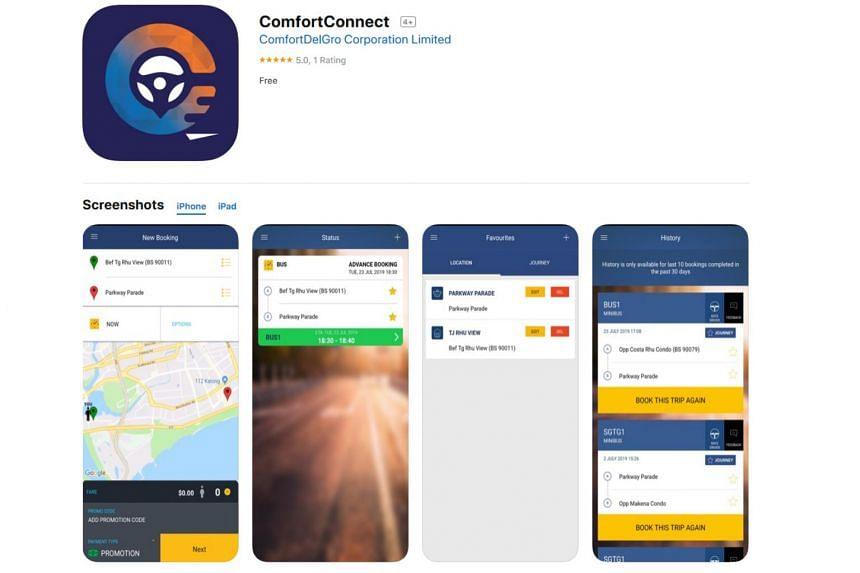 ComfortDelGro rolls out free on-demand buses in 3-month