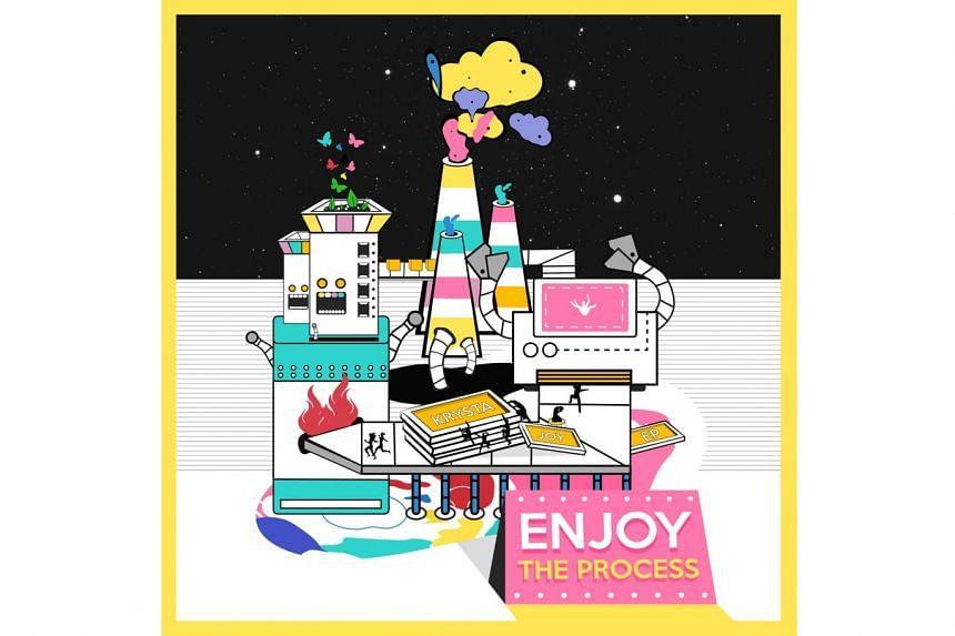 Enjoy The Process; Krysta Joy