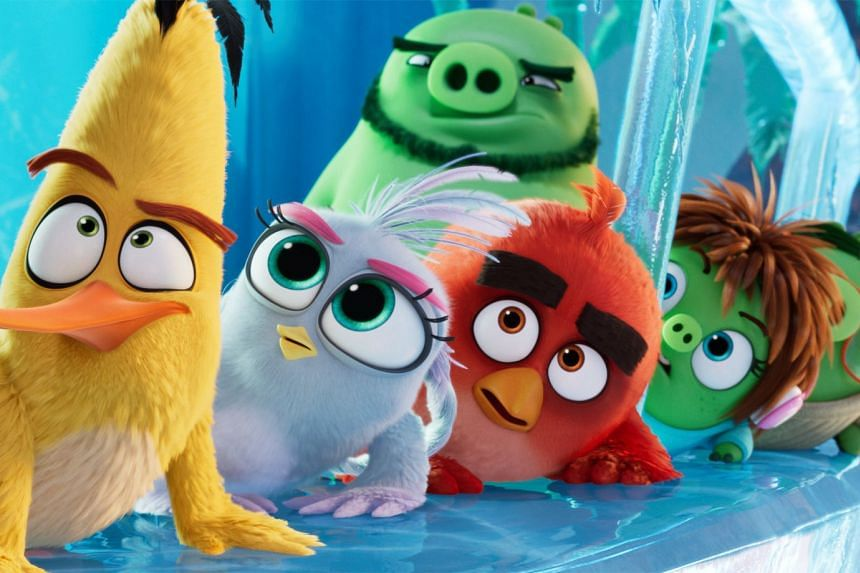 Producer John Cohen of The Angry Birds Movie 2 (above) said the sequel teaches children the importance of teamwork.