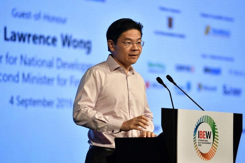 Besides the $20 million top-up, National Development Minister Lawrence Wong also unveiled plans to launch a new digital knowledge centre for green buildings.
