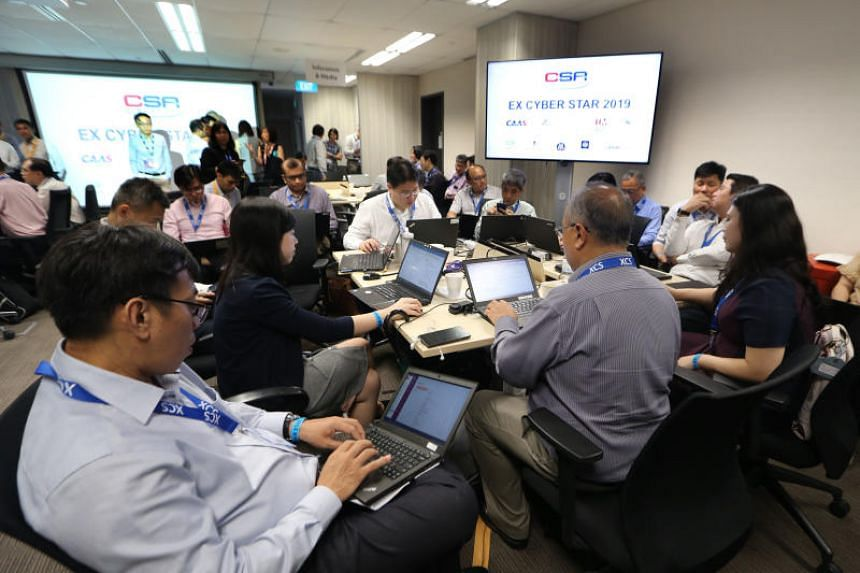 In its third run, Exercise Cyber Star's more than 250 participants from the public and private sectors scrambled to isolate the cyber attack and restore the operations of critical services including healthcare, land transport and energy.