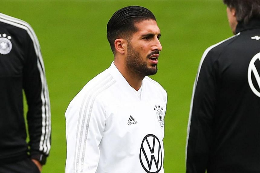 Emre Can has been left off Juventus' Champions League squad.