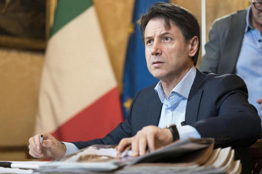 Italian Prime Minister Giuseppe Conte  unveiled a new Cabinet line-up.