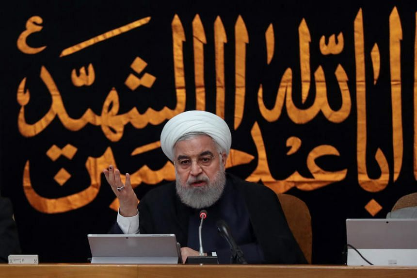 Iran's President Hassan Rouhani said talks with European powers were moving forward.