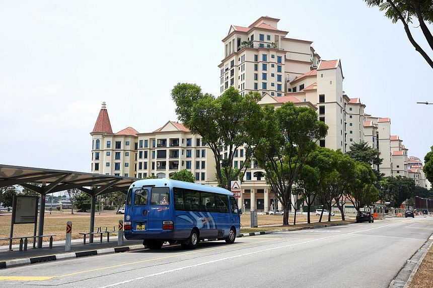 The trial ComfortConnect service operates from Mondays to Fridays between 10am and 4pm, and has been available to residents in Tanjong Rhu and Meyer Road since Aug 15. No fares are being collected during the three-month trial. PHOTO: COMFORTDELGRO
