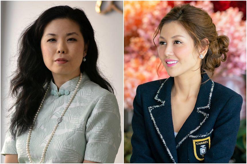 Local jade jewellery designer Choo Yilin (left) and bespoke wedding planning company The Wedding Atelier founder Lelian Chew.