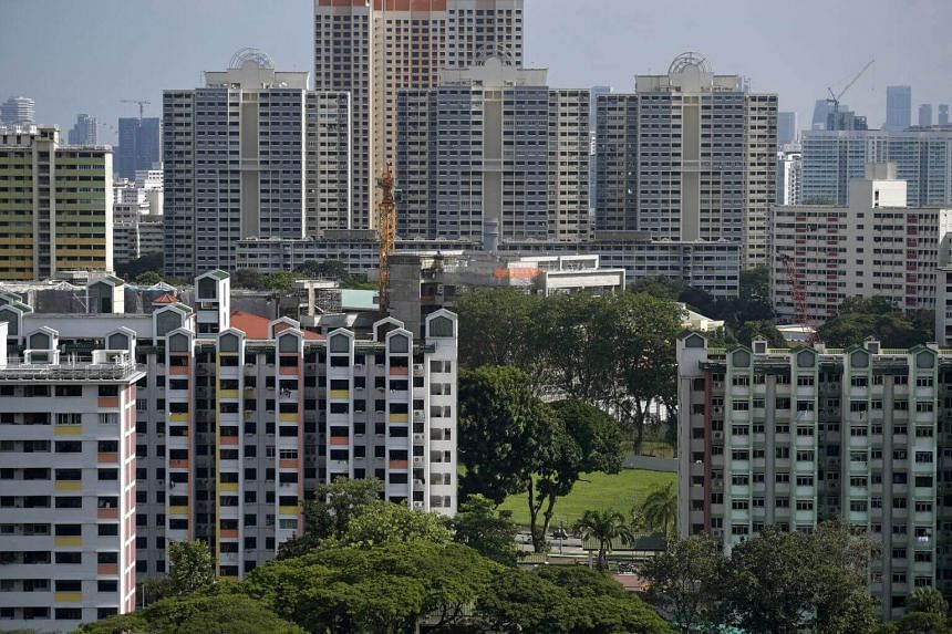 HDB flats in Toa Payoh in 2018.