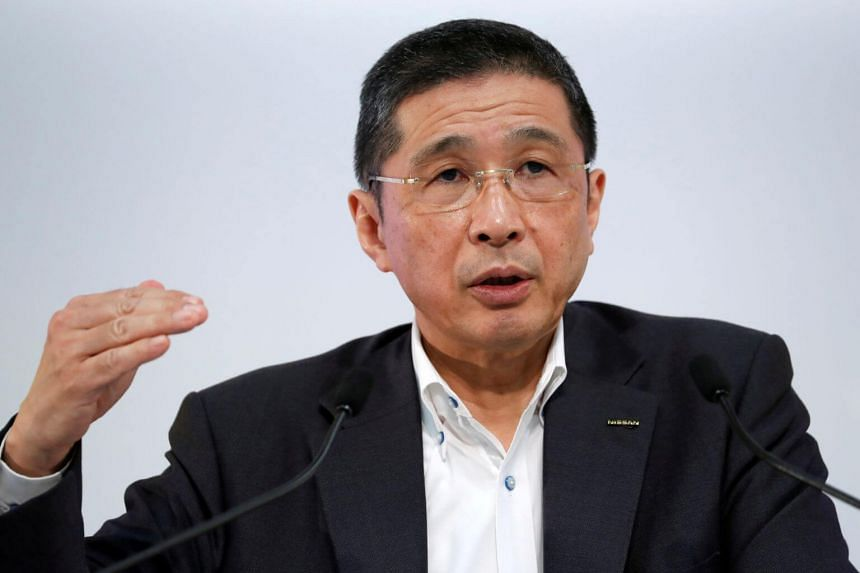 The Nikkei business daily said Nissan CEO Hiroto Saikawa was suspected of improperly adding 47 million yen (S$609,000) to his compensation by altering the terms of a bonus.