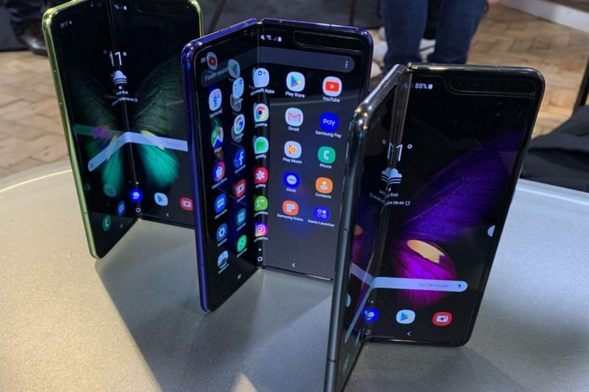Samsung's Galaxy Fold is available now in Korea -- with 5G