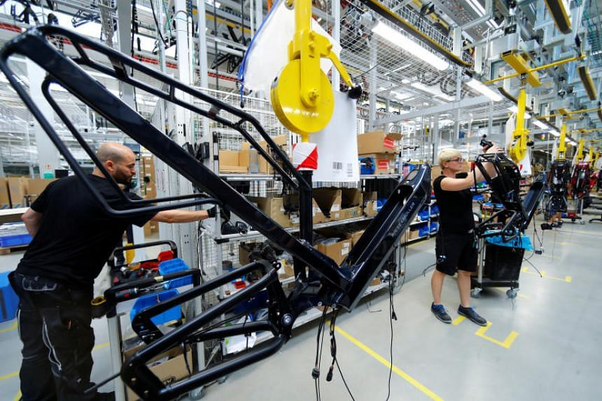 Economic prospects for export-reliant Germany remain uncertain amid increased risks of a no-deal Brexit that would plunge the UK deep into crisis, and the intensifying trade war.