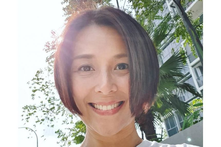 Priscelia Chan had disappeared from television screens in the past two years as she could not put on make-up as a result of her skin condition.