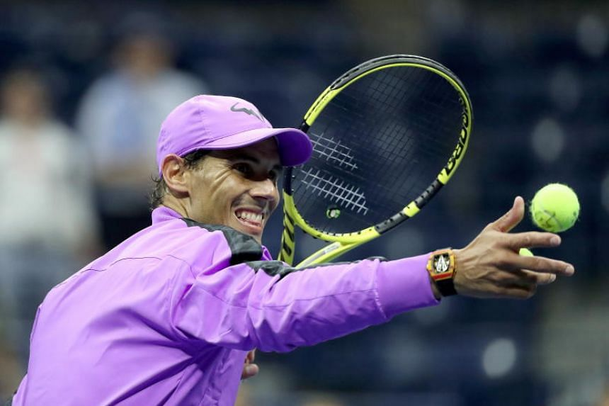 Rafael Nadal (above) advanced to the semi-finals of the US Open with a battling 6-4, 7-5, 6-2 win over 20th seed Diego Schwartzman.