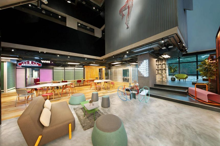 """Targeted at millennials, the lyf concept is said to be """"managed by millennials for the millennials and millennial-minded"""", and looks to provide collaborative spaces and social programmes to create a """"live-work-play"""" experience."""
