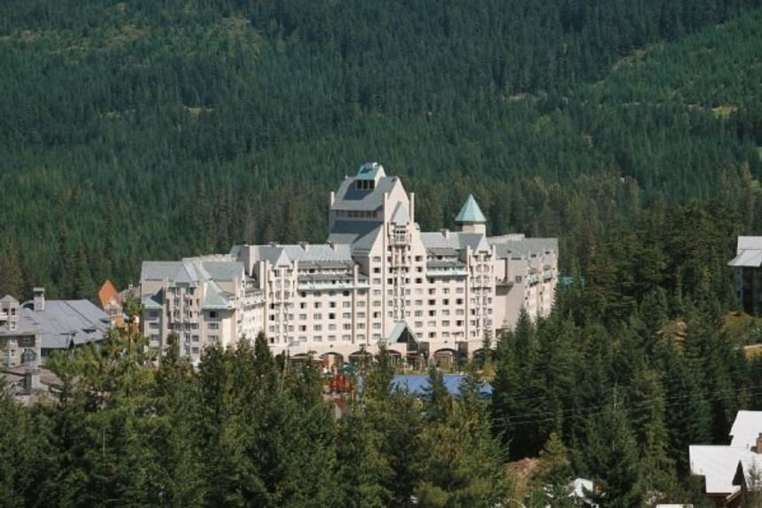 Oxford was planning to sell a 50 per cent stake in its Fairmont hotels in Whistler, British Columbia (pictured), and Lake Louise, Banff Springs and Jasper Park in Alberta.