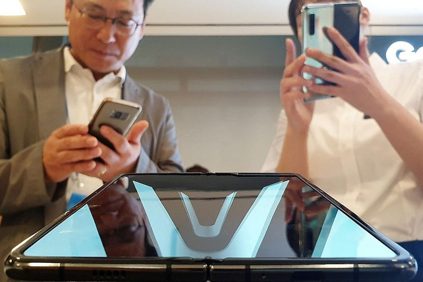 Samsung Galaxy Fold to debut in Singapore on Sept 18