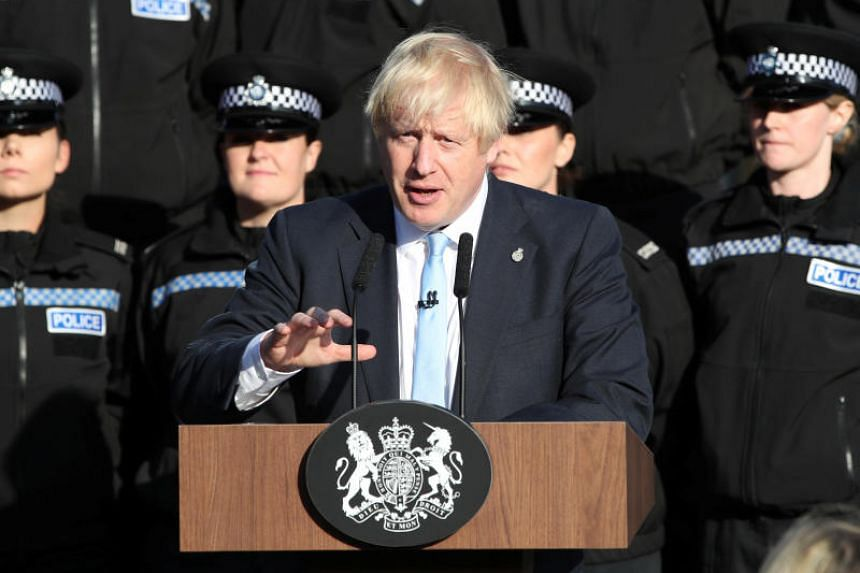British PM Boris Johnson is pushing for an election on Oct 15, two weeks before the United Kingdom is due to leave the EU.