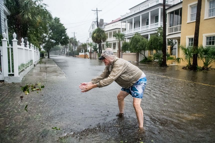 Charleston gets ready for severe flooding as Hurricane