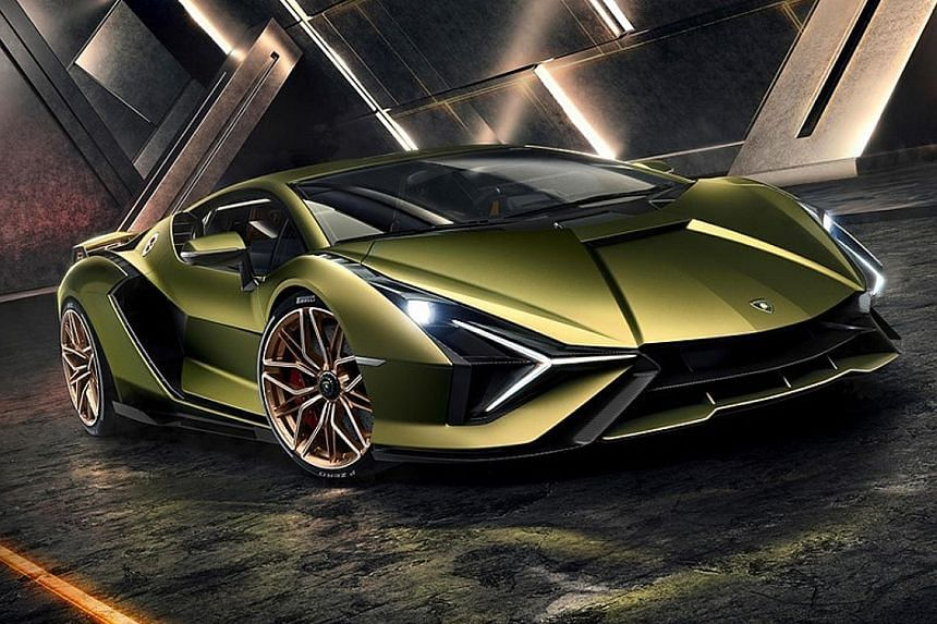 Its questionable choice of name aside, the new Lamborghini Sian (above) breaks new ground for the Audi-owned Italian supercar marque.