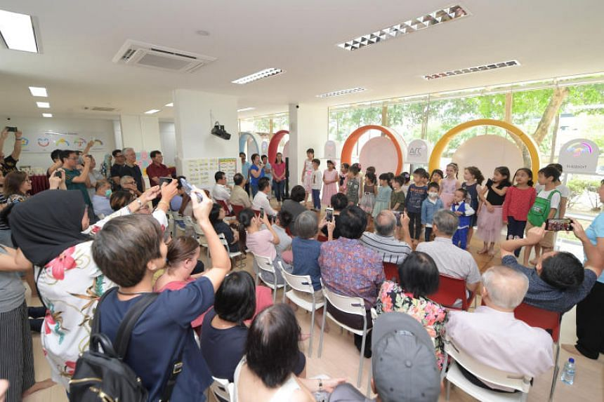 Arc Children's Centre, which moved to its new premises in 77 Lorong Limau near Whampoa in July, is a charity day care centre designed for children with cancer or critical illnesses.