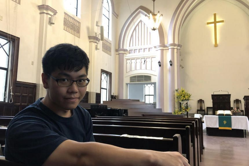 Mr Alex Ko, administrator at Che Lam Presbyterian Church in Taipei, who convinced his fellow parishioners to ship thousands of gas masks and goggles to help protesters in Hong Kong.