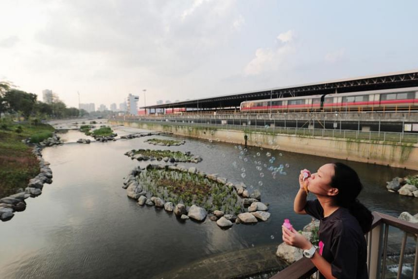 The four-year, $86-million project called ABC Waters @ Kallang River is meant to boost flood protection for residents in the area, as well as strengthening the canal's structural integrity.