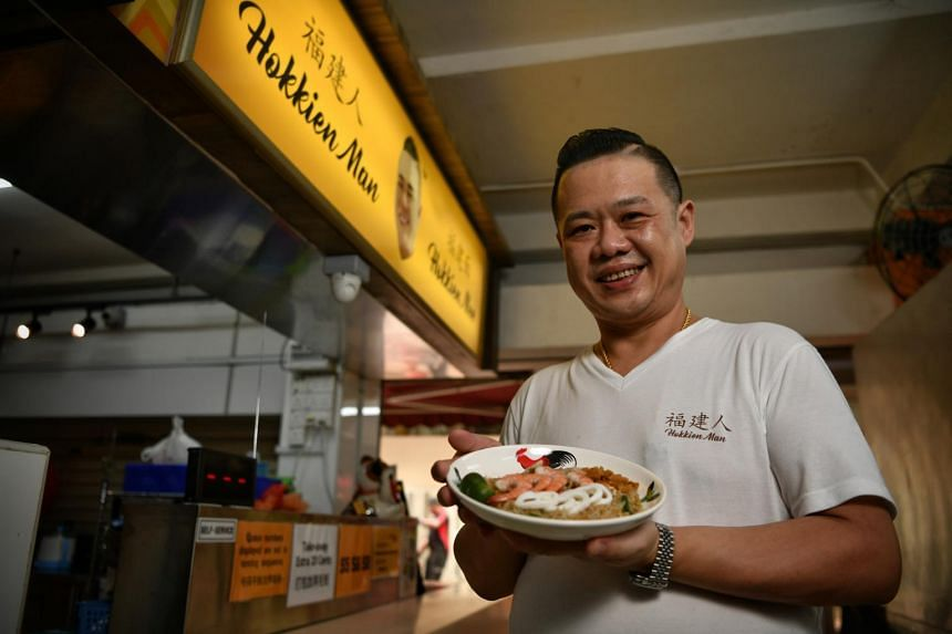 To come up with his version of fried Hokkien mee, Xavier Neo would eat at popular stalls and then figure out how it was cooked.