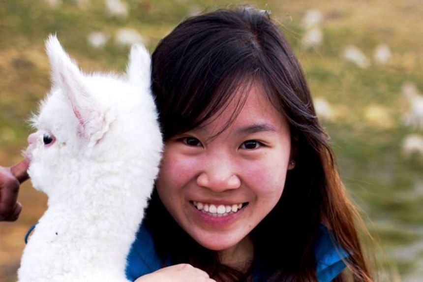 Ms Tan Wei graduated earlier this year with a master's from the University of California, Berkeley.