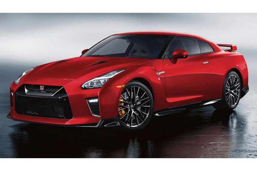 Nissan's 2020 model year GT-R (above) arrives to mark the Japanese brand's 50th anniversary.