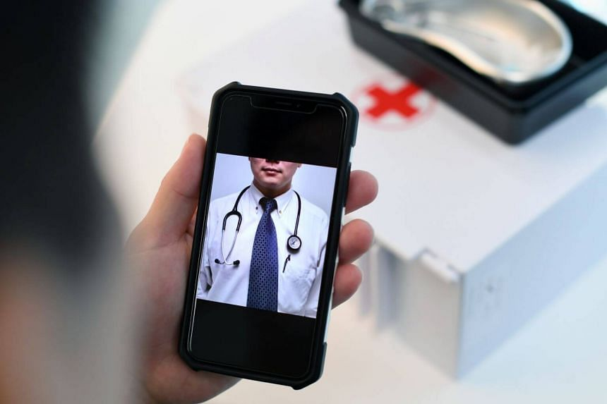 A teleconsultation works simply: A patient downloads an app, creates an account and, after answering a few questions, will be connected to a doctor.