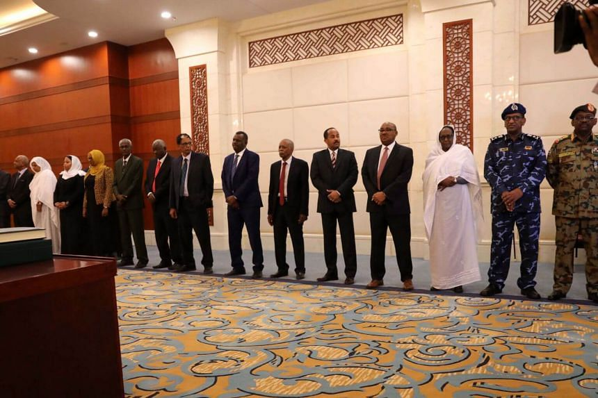Sudan's new cabinet members include the country's first woman foreign minister, along with three other women, in an apparent acknowledgement of Sudanese women's participation in the uprising.