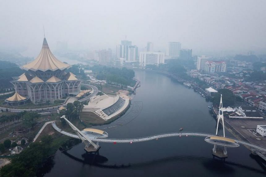 In the latest outbreak, parts of Malaysia's eastern state of Sarawak on Borneo island have been blanketed over the past few days.