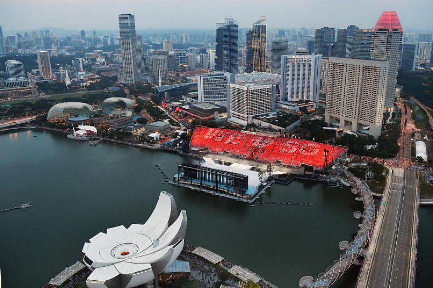 The existing floating platform, which has been used for several National Day Parades in recent years, could be demolished from January 2022.
