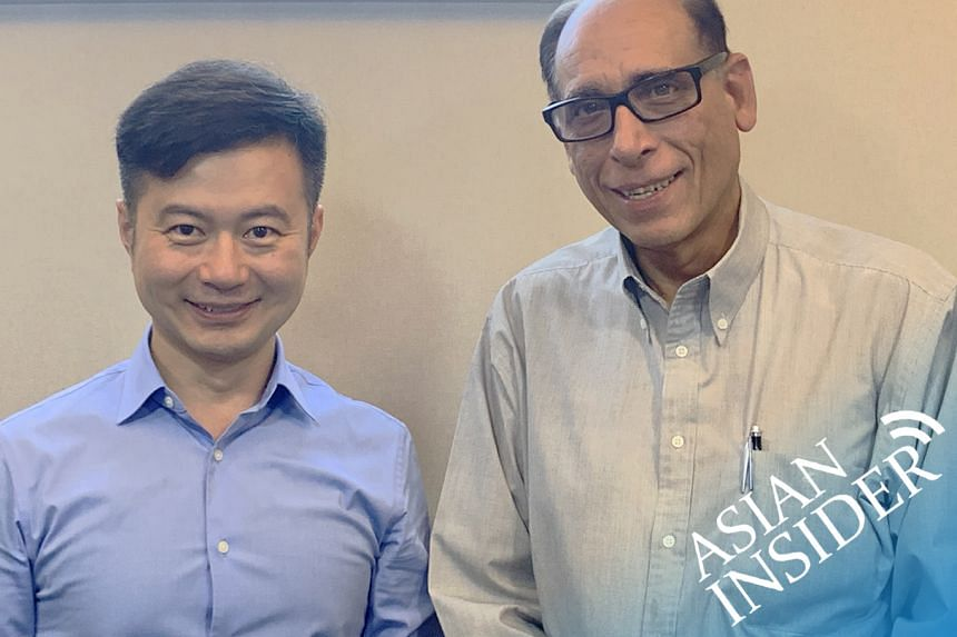 In this episode of the Asian Insider, The Straits Times' associate editor Vikram Khanna (right) chats to Howard Yu, Lego professor of management and innovation at the IMD Business School in Switzerland.