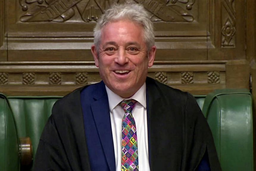 UK Commons Speaker John Bercow resigns as Parliament suspended