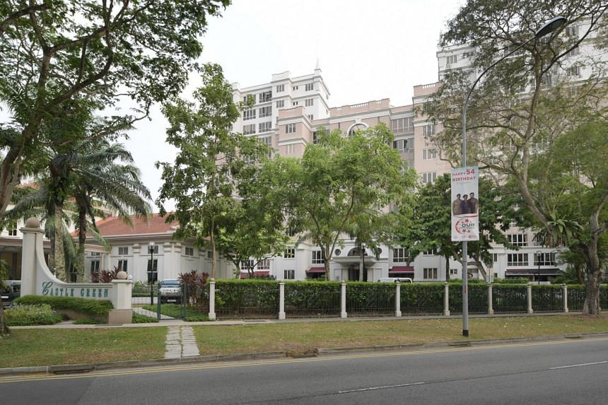 The by-laws state that no work is to be carried out that may affect the external facade of the Castle Green condominium building, without first getting the management corporation's approval in writing.