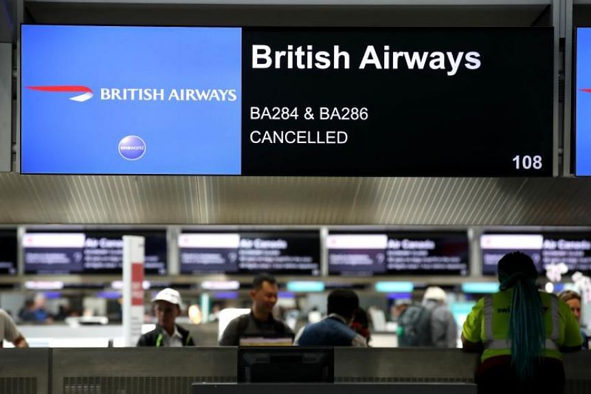 British Airways has estimated that the two-day strike that started on Sept 9, 2019, will affect 195,000 customers.