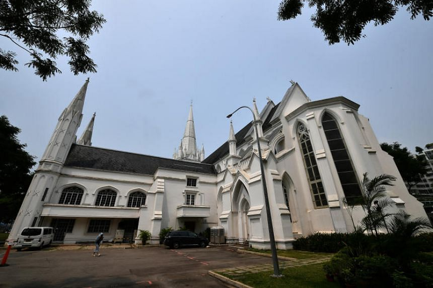 Built in 1861, St Andrew's Cathedral was gazetted as a national monument in 1973.
