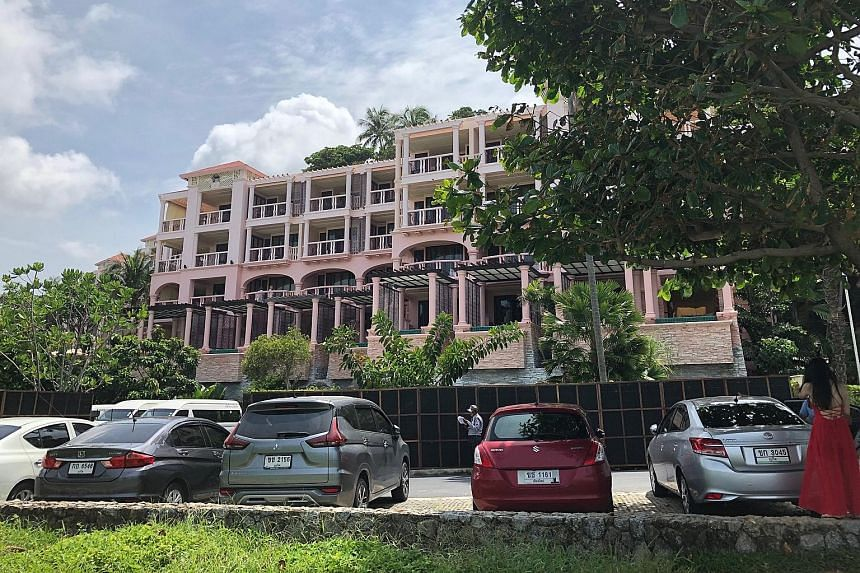 The Centara Grand Beach Resort in Karon, on the Thai resort island of Phuket, where a tourist is alleged to have killed another in a skirmish last month. The suspect, a Norwegian, is on the run after being granted bail by the court.