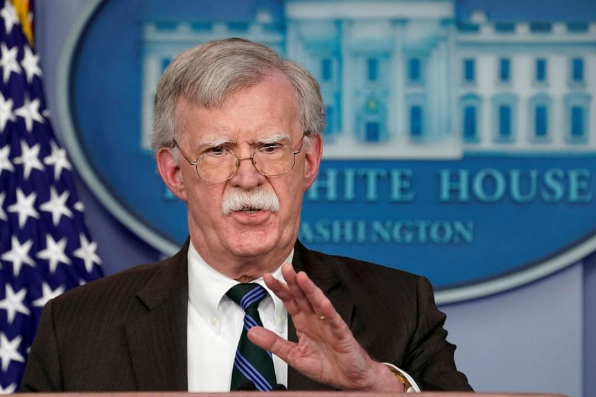 National Security Adviser John Bolton was a strong advocate for sanctions against Iran and the ouster of Nicolas Maduro as president of Venezuela.