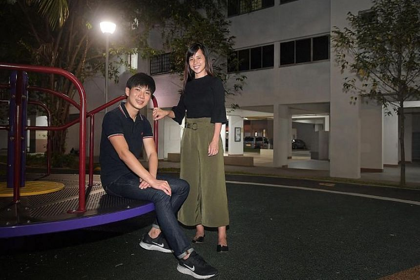 Under the latest changes to the Housing Board's grant schemes, Ms Tan Li Shuan and her boyfriend Jerren Chua now qualify for about $25,000 more in grants. They also have more options in type, size and location of flat.