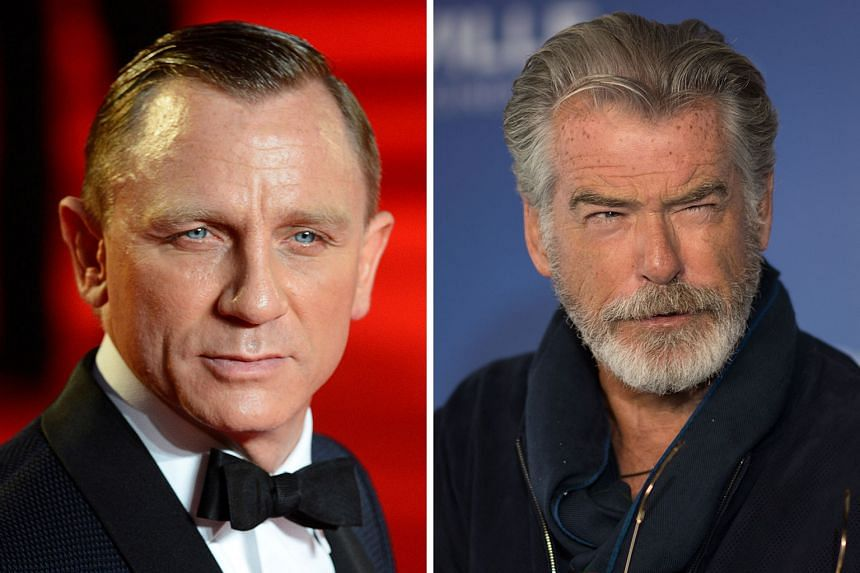 Two actors who have played the famous spy - Daniel Craig (left) and Pierce Brosnan (right) - both endorse the idea of a woman taking on the iconic role.