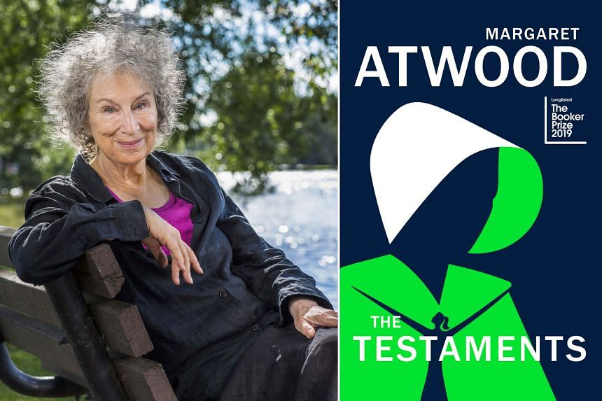 The Testaments (right) by Margaret Atwood (left) was shortlisted for the Booker Prize even before its release.