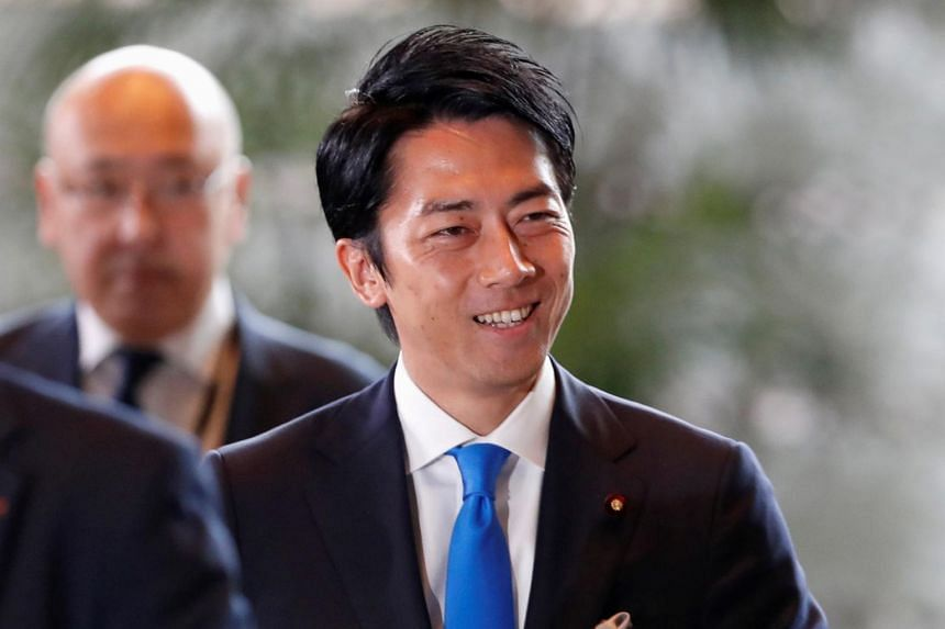 Mr Shinjiro Koizumi, 38, is the third-youngest minister appointed to the Cabinet in Japan since the end of World War II, in a country when seniority is prized in politics and many other walks of life.