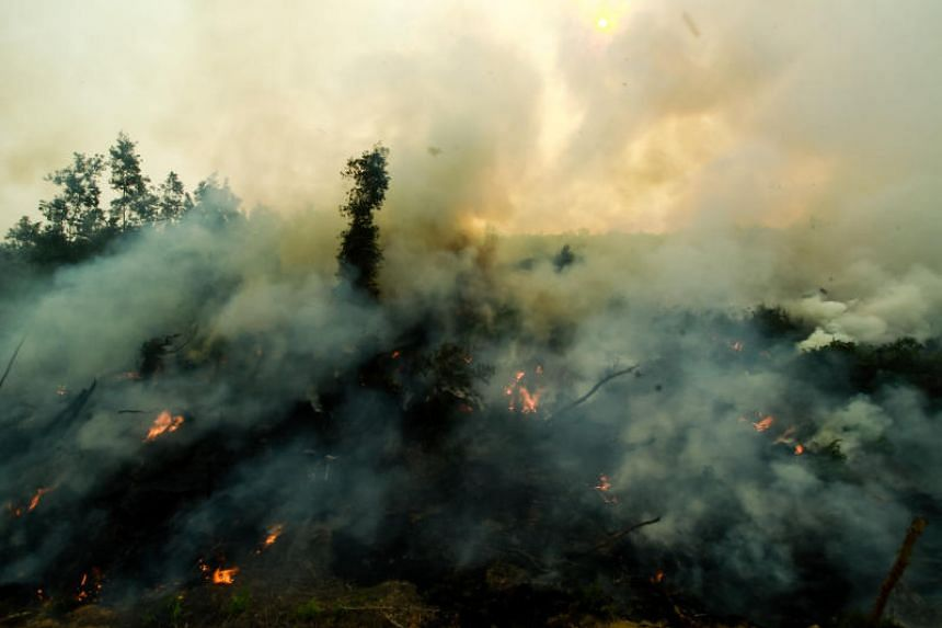 Indonesia's Disaster Mitigation Agency said more than 3,600 fires have been detected on Sumatra and Borneo islands by weather satellites, leading to very poor air quality in six provinces with a combined population of more than 23 million.