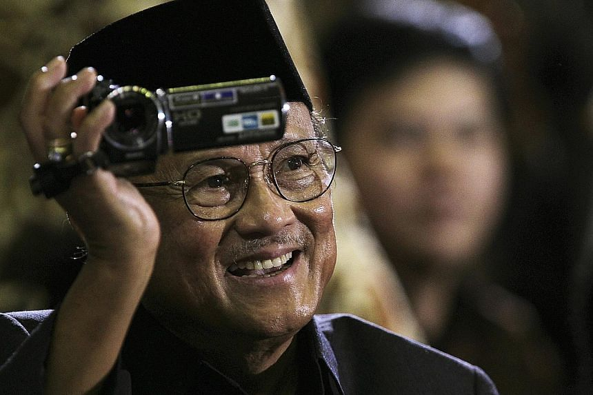 The presidency of former Indonesian leader Bacharuddin Jusuf Habibie, seen here in a 2010 file photo, was short but transformative.